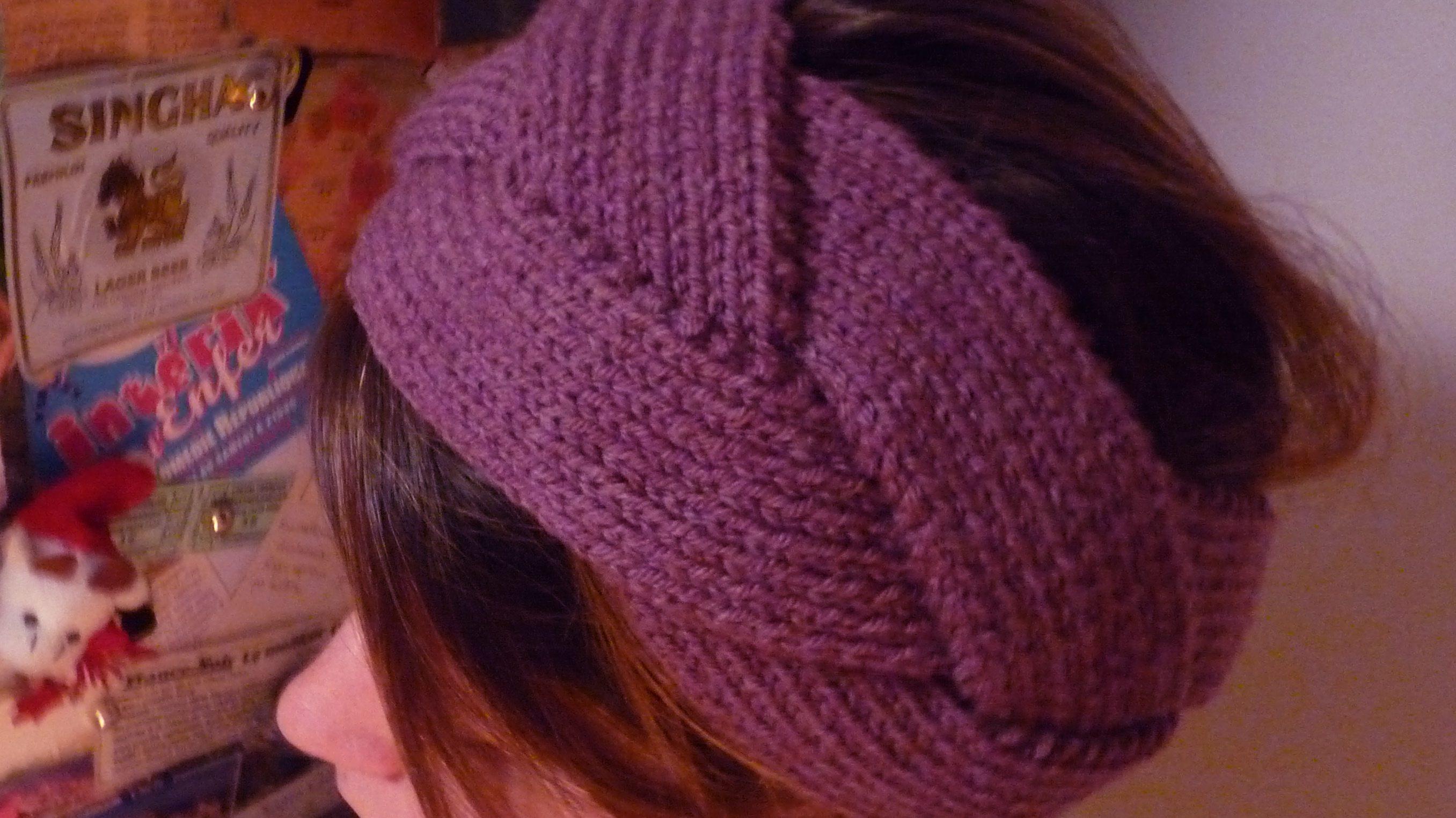 Bandeau tricot un mod le pour les fashionista - Modele mitaine tricot facile ...