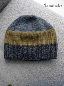 bonnet homme tricot