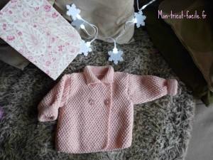 modèle tricot bébé