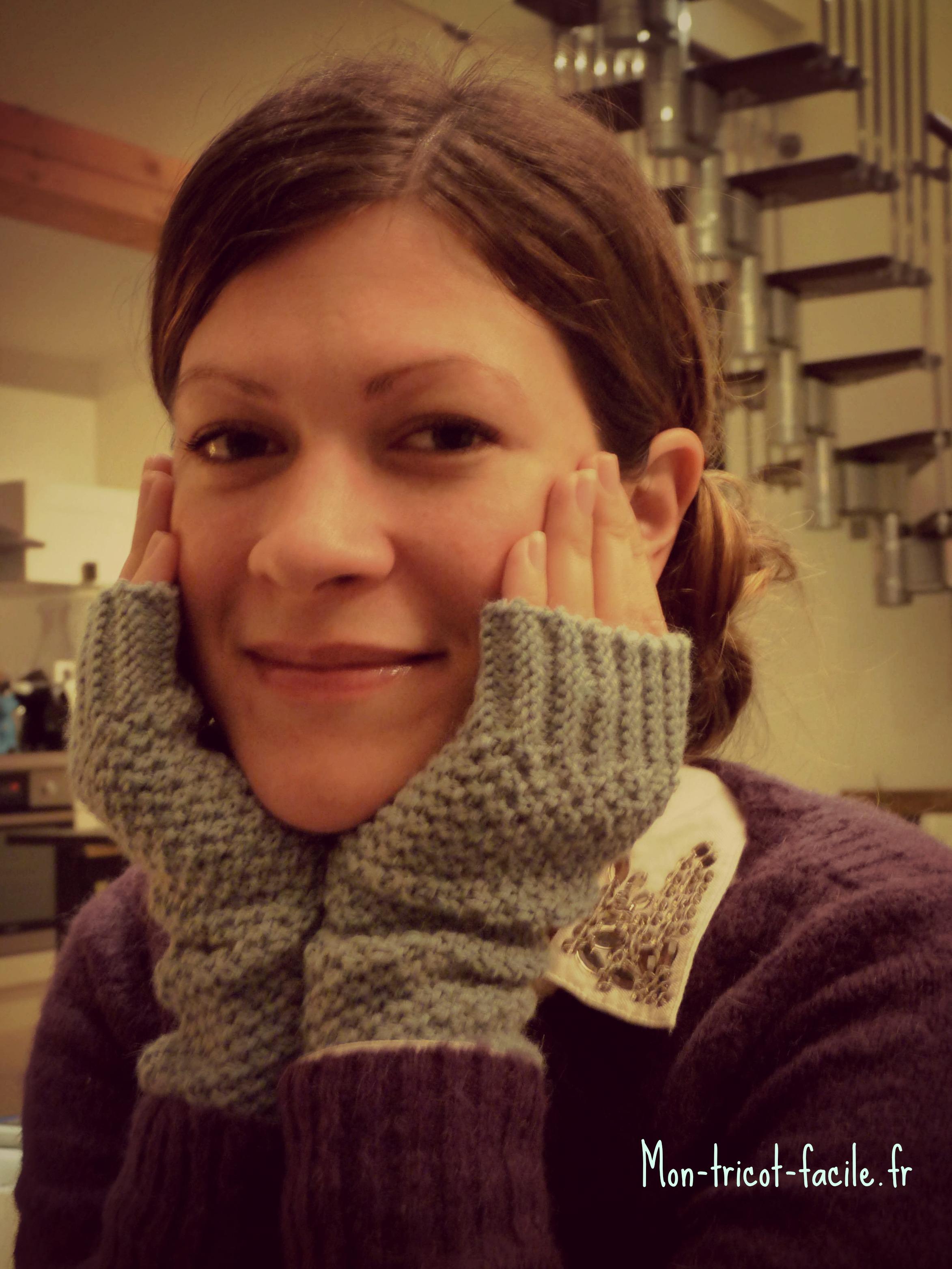 Tricoter des mitaines c 39 est de saison - Tricoter des mitaines facile ...