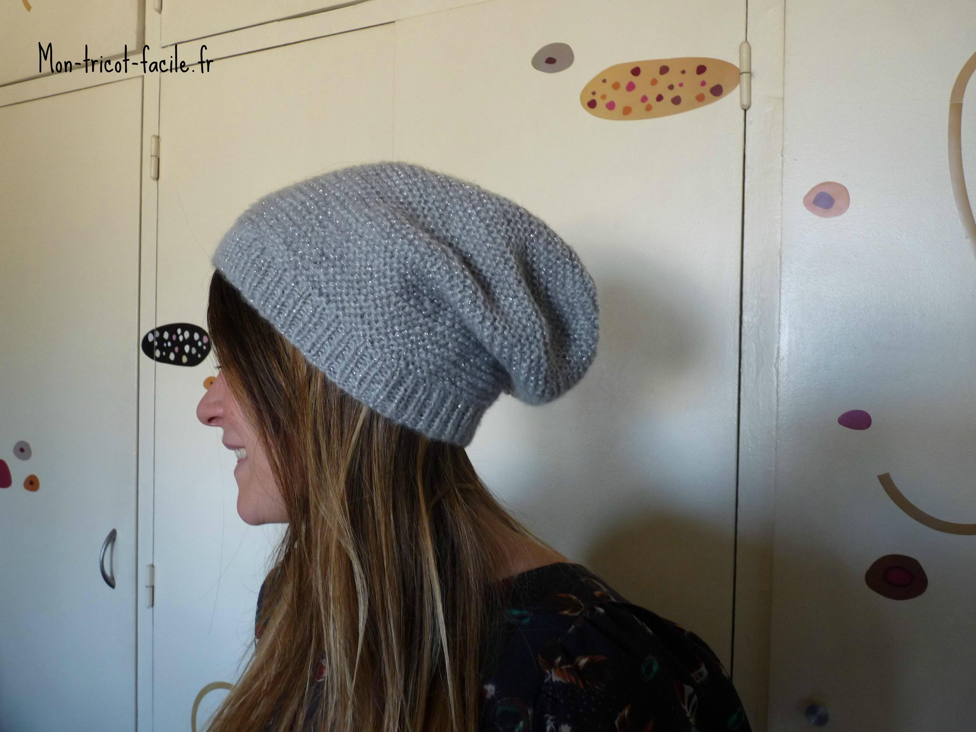modele bonnet sans les explications  Forum Broderie, Couture, Tricot, Crochet