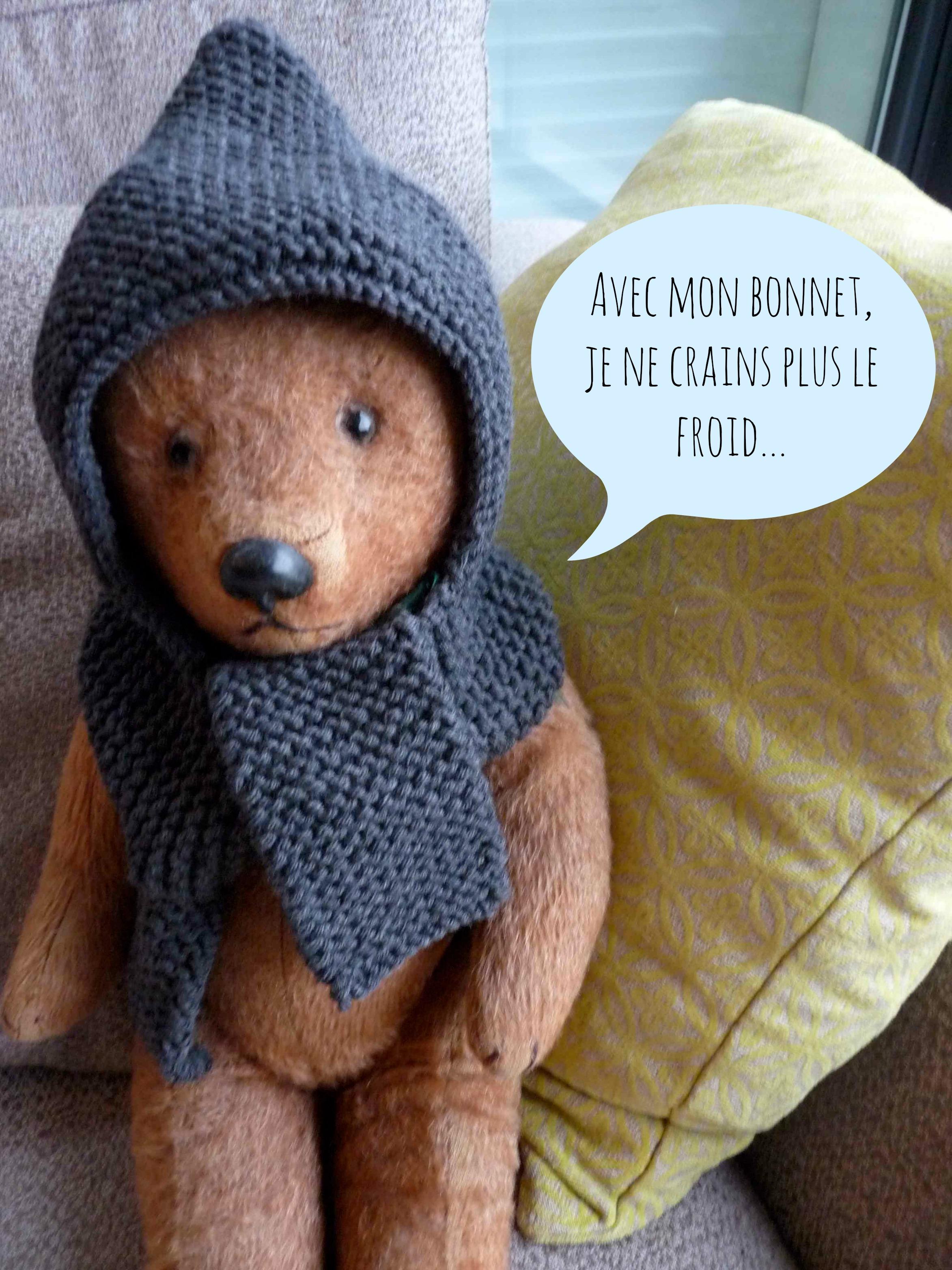 modele bonnet echarpe tricot gratuit