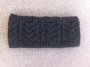 tricoter un bandeau en laine