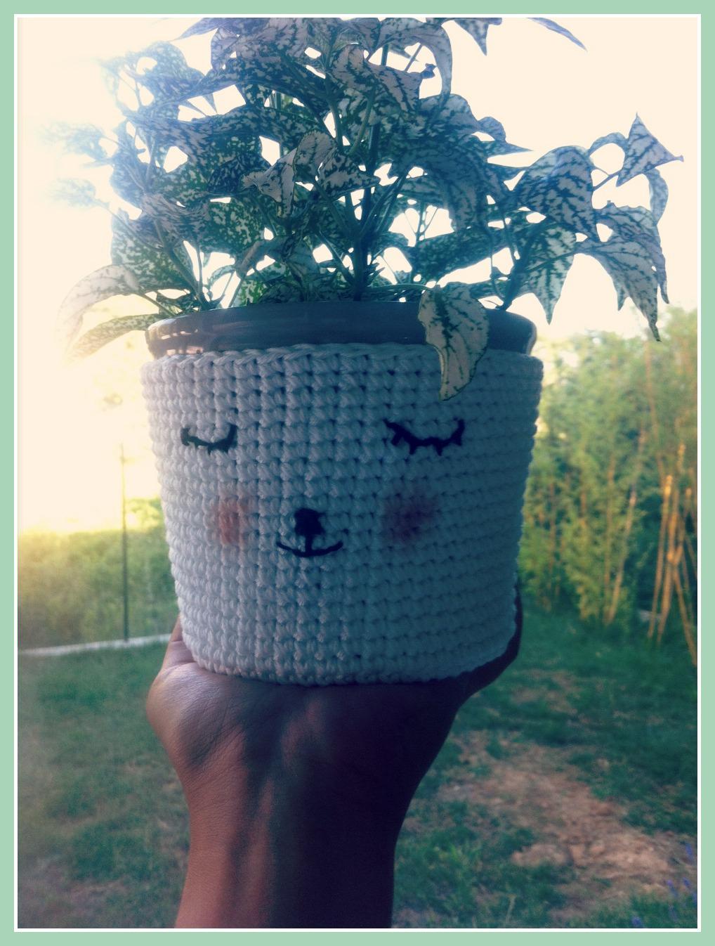Gut gemocht Tuto crochet : un cche pot trooop mignon EH94