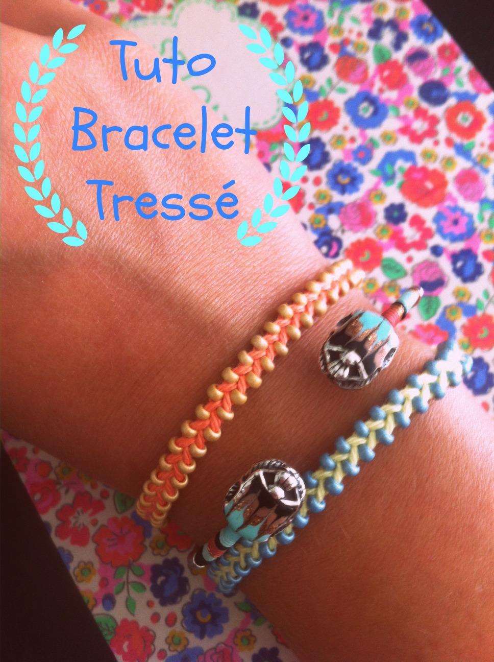 Souvent Tuto bracelet : réalisez un bracelet tressé en 7 étapes ! CA15